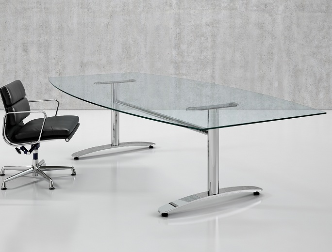 Glass glide 2 Bespoke glass furniture