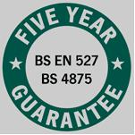 Five Year Guarantee
